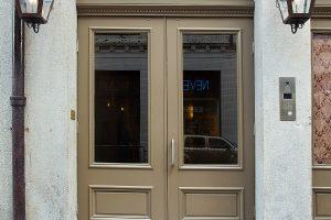 220 Decatur New Orleans Condos Front Door
