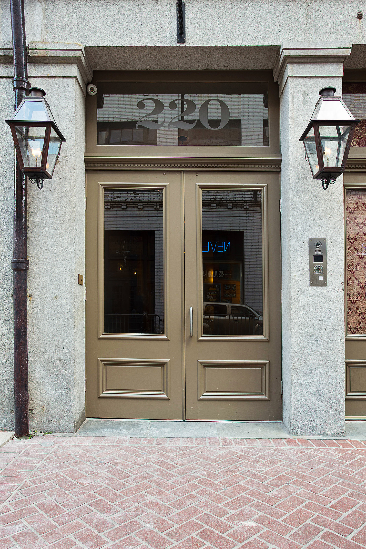 220 Decatur New Orleans Condos Front Door