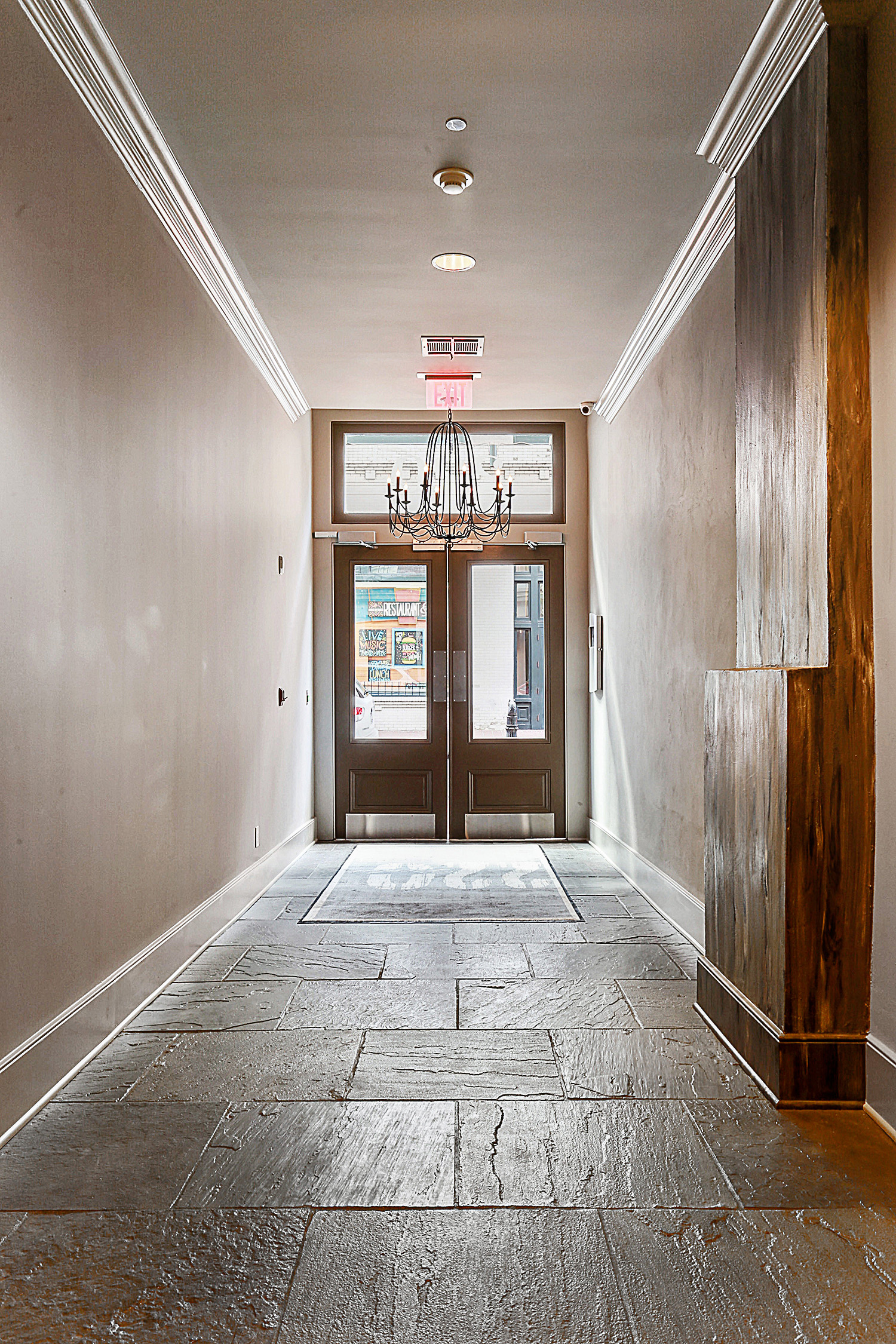 Lobby Exit - New Orleans Condos - 220 Decatur