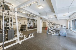 Crystalline 516 Bienville St. New Orleans Apartment For Rent Gym 1